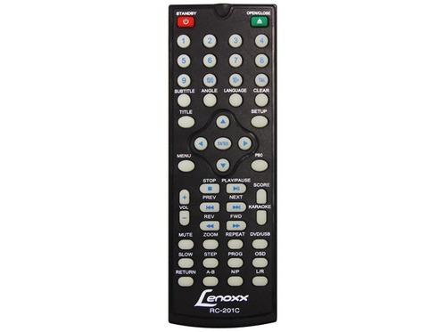 dvd player lenoxx dv445 c/ mp3 player função karaokê/usb