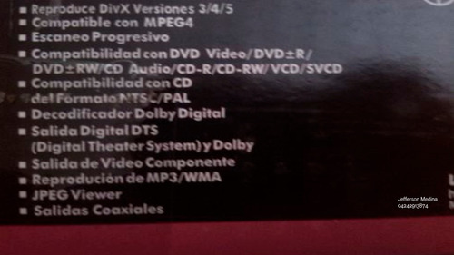 dvd player lg dk162