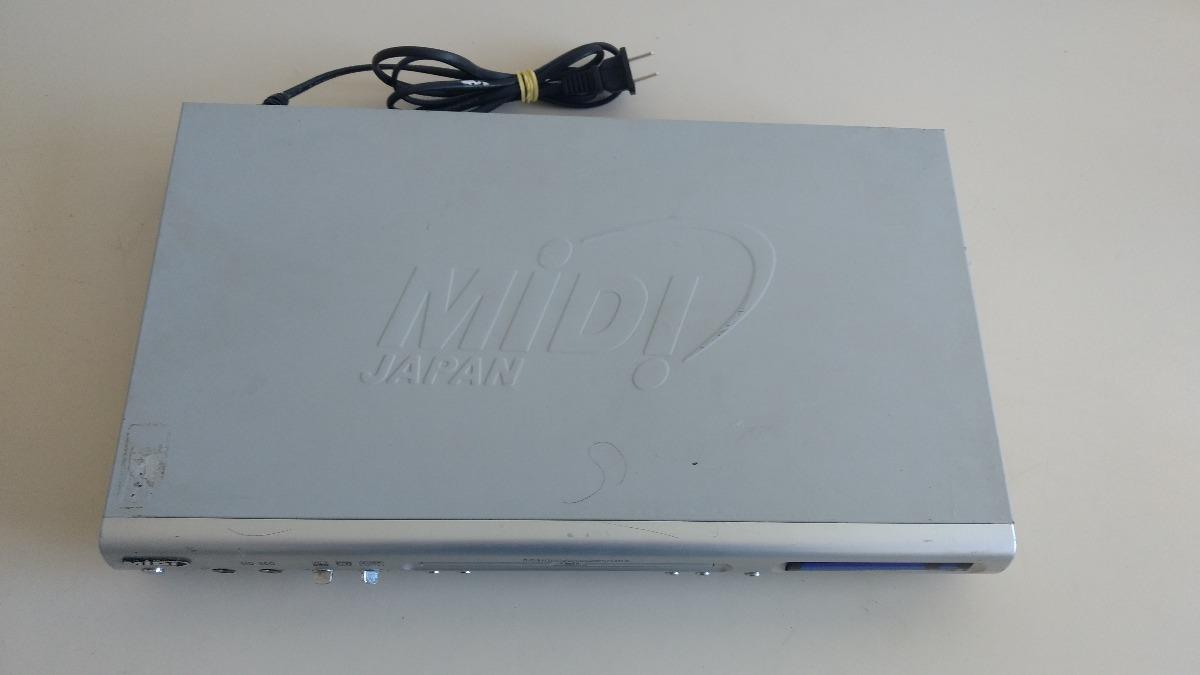 Dvd Player Midi Md 9090g Com Karaoke