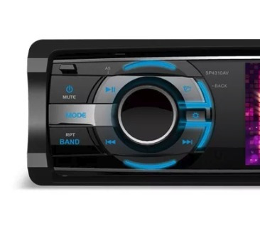 dvd player mp3 usb toca cd radio am fm corsa sedan tela 3