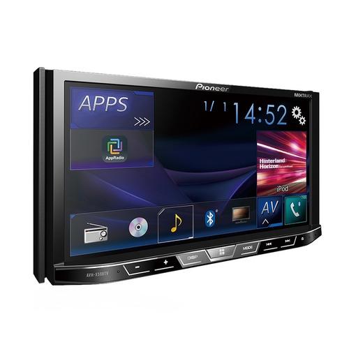 dvd player pioneer 2din bluetooth tv digital uno novo câmera