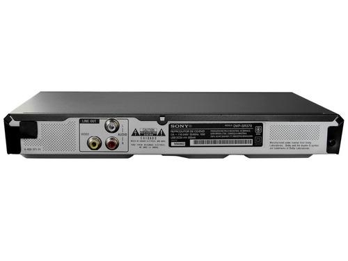 dvd player sony dvp-sr370 - usb frontal - bivolt