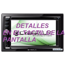 Reproductor De Pantalla Carro, Cámara De Retroceso Cyberlux