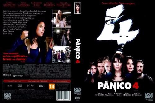dvd pânico 4 suspense / terror, original