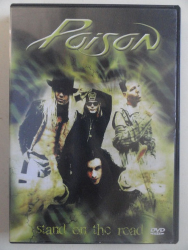 dvd poison - stand on the road