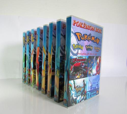dvd pokémon box todas as temporadas dublado completo