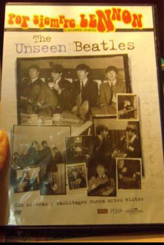 dvd por siempre lennon the useen the beatles nuevo sellado