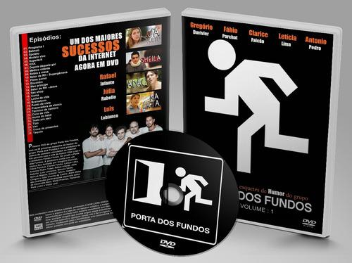 dvd porta dos fundos primeira temporada