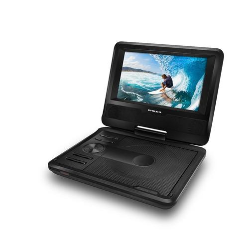 dvd portátil 7 alta resolución philco dvpp730 envío gratis