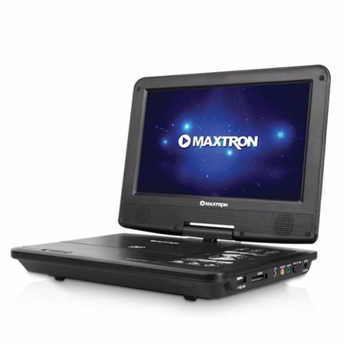 dvd portatil 9 con tv y radio para auto o casa