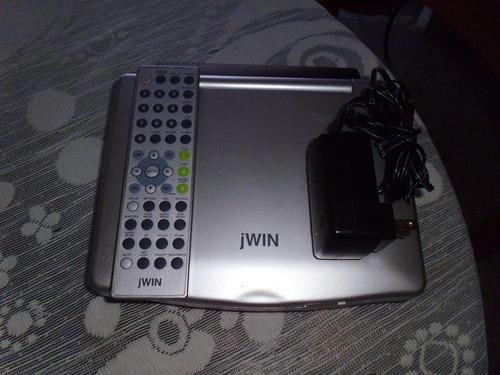 dvd portátil marca jwin ( sin batería) para repuesto