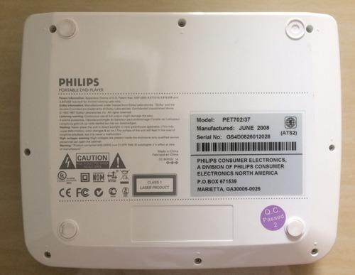 dvd portatil phillips