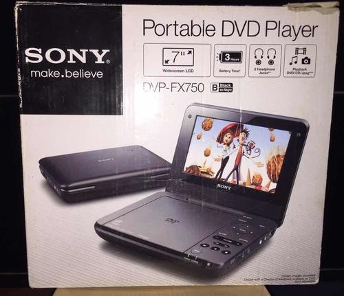 dvd portatil sony dvp-fx750