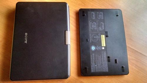 dvd portatil sony dvp-fx810 lcd recargable de 8 pulgadas