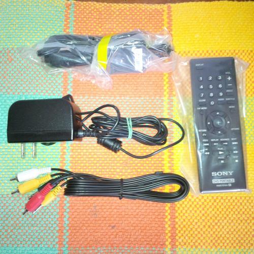 dvd portatil sony fx-750 ganga con súper (estuche nuevo)