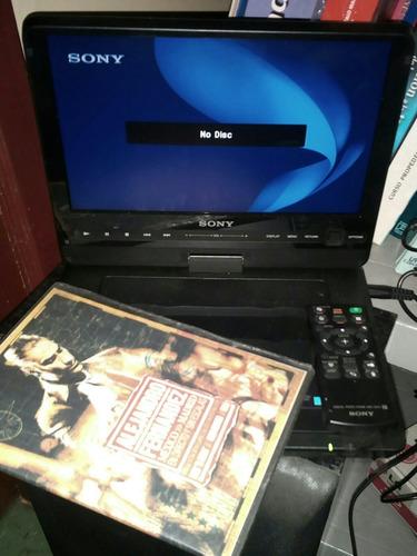 dvd portatil sony (sin batería, todos sus accesorios)