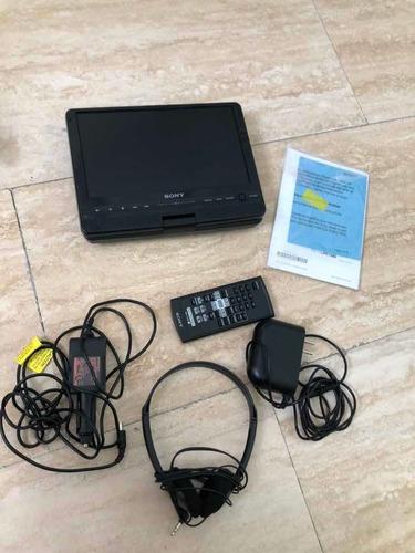 dvd portátil sony usado 7pulgadas negro