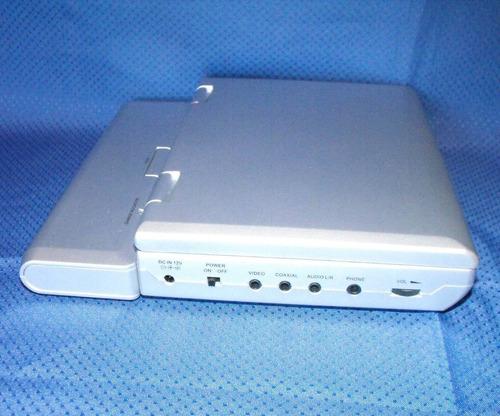 dvd portatil spectroniq con bateria y control remoto