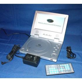 Dvd Portatil Spectroniq Control Remoto S Batteria 50 Verdes