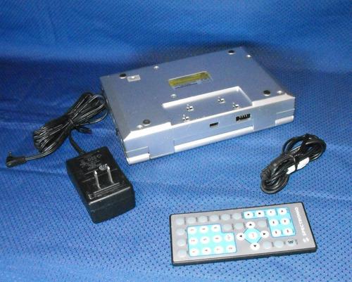 dvd portatil spectroniq control remoto sin batteria