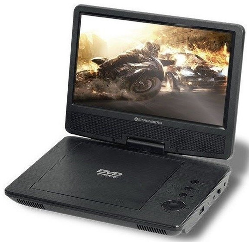 dvd portatil stromberg dvd-p933 pantalla 9` usb  - aj hogar