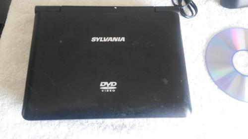 dvd portátil sylvania 7  en perfecto funcionamiento