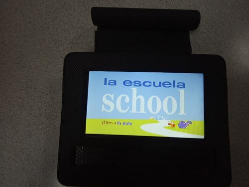 dvd portátil sylvania con pantalla giratoria