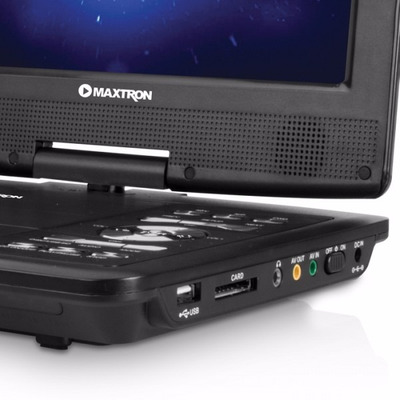dvd portatil tft 9  con tv radio video in/out lee usb/sd