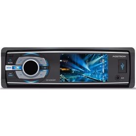 Dvd Positron Sp4330 Bt Tela 3'' Com Bluetooth E Usb