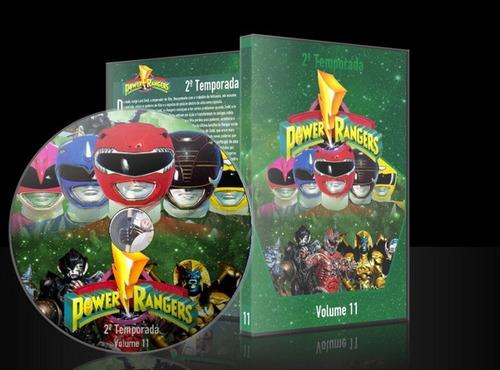 dvd power rangers mighty morphin 2 temporada