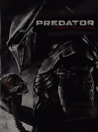 dvd predator / depredador 1 & 2 + depredadores 2010