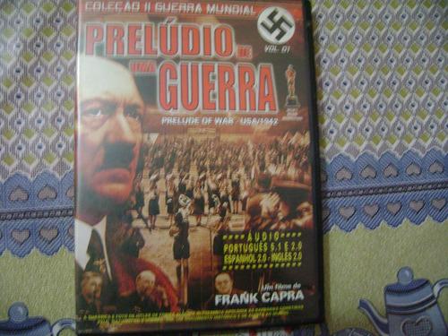 dvd preludio de uma guerra   vl 1  coleçao 2 guerra mundial