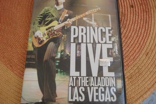 dvd prince live at the aladdin las vegas