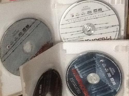 dvd prison break 1ª temporada - 6 dvds