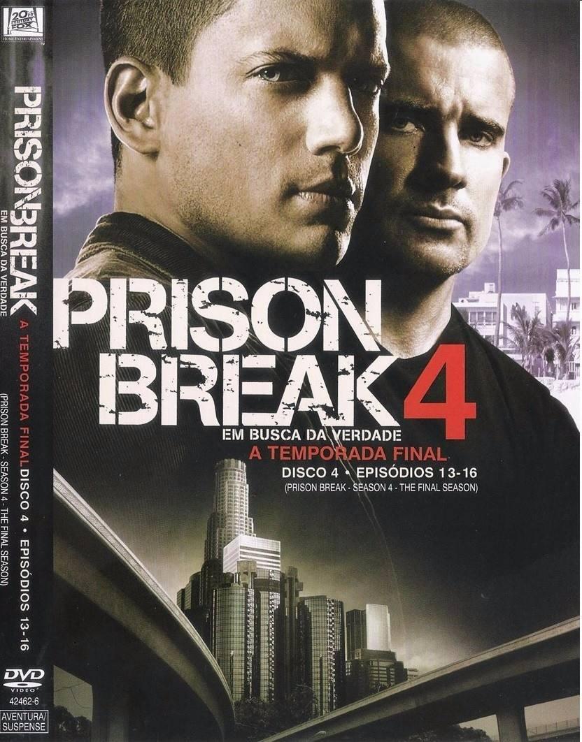 Dvd Prison Break 4ª Temporada Disco 4 Em Busca Da Verdade - R$ 19,00 ...