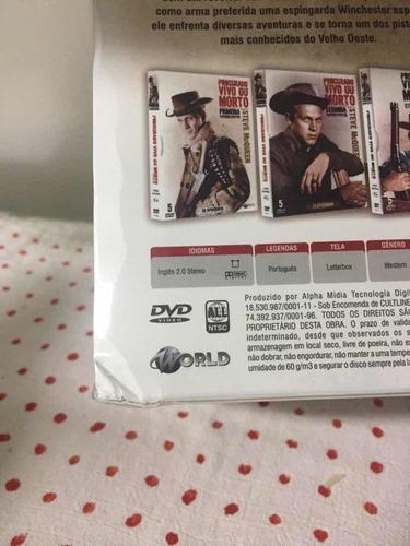 dvd procurado vivo ou morto a serie completa - bonellihq j19