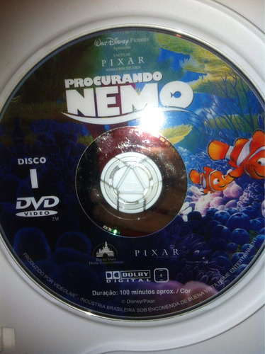 dvd - procurando nemo