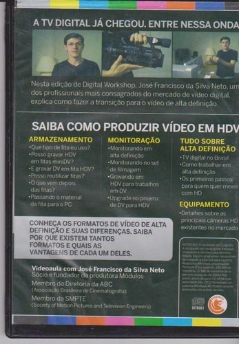 dvd produção de videohd  - high definition video