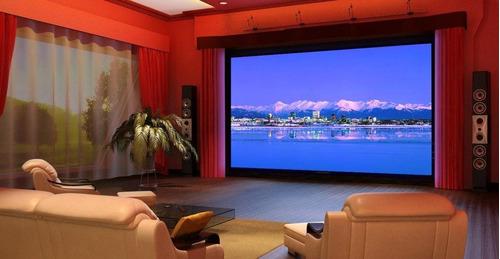 dvd projector de peliculas 80 pulgadas tv