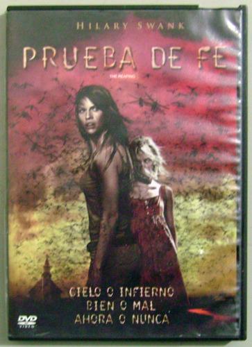 dvd prueba de fe - the reaping dvd