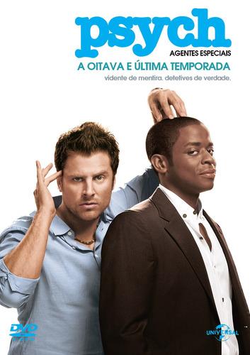 dvd psych: agentes especiais - a 8º e última temporada