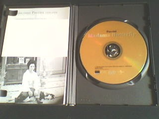dvd  puccini - madama butterfly