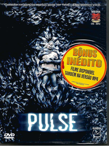 dvd pulse - ian somerhalder - digipack duplo - lacrado