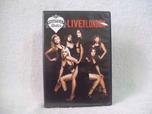 dvd pussycat dolls - live from london  'original'