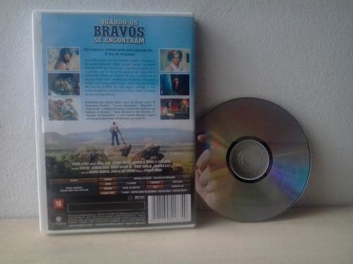 dvd quando os bravos se encontram c/ james caan - faroeste