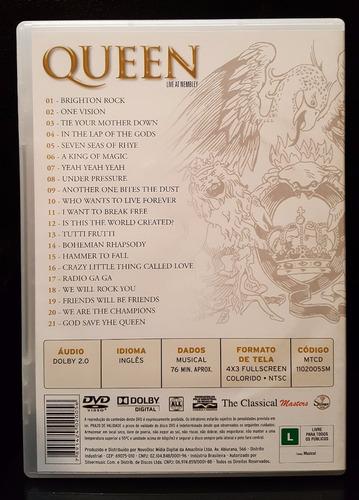dvd queen live at wembley
