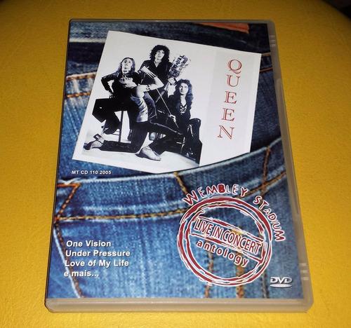 dvd queen - live in concert antology - wembley stadium