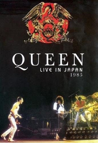 dvd  queen live in japan 1985 freddie mercury