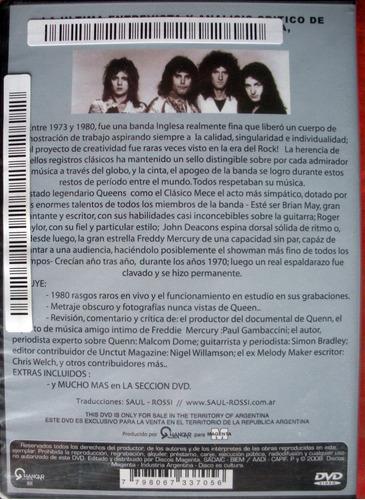 dvd - queen - under review - 1973 - 1980