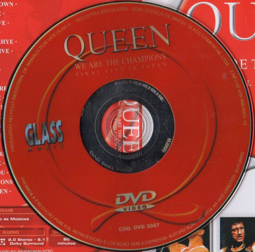 dvd queen - we are the champions - final live in japan